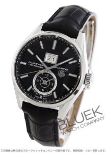 タグホイヤー カレラ グランドデイト GMT アリゲーターレザー 腕時計 メンズ TAG Heuer WAR5010.FC6266