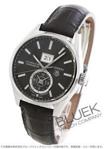 タグホイヤー カレラ グランドデイト GMT アリゲーターレザー 腕時計 メンズ TAG Heuer WAR5012.FC6326