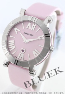 ティファニー アトラス サテンレザー 腕時計 レディース TIFFANY Z1301.11.11A31A41A