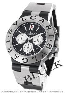 ブルガリ ディアゴノ チタニウム クロノグラフ 腕時計 メンズ BVLGARI TI44BTAVTDCH