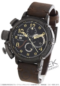 ユーボート キメラ カーボン 世界限定199本 クロノグラフ GMT 腕時計 メンズ U-BOAT 7177