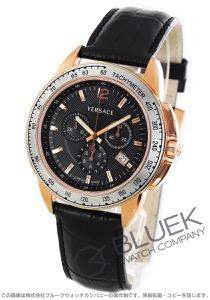 ヴェルサーチ V-スポーツ クロノグラフ 替えベゼル付き 腕時計 メンズ VERSACE 12C80D009S09