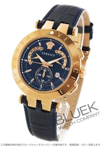 ヴェルサーチ V-レース クロノグラフ レトログラード 替えベゼル付き 腕時計 メンズ VERSACE 23C80D282S282