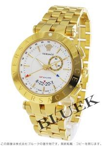 ヴェルサーチ V-レース GMT 腕時計 メンズ VERSACE 29G70D001S070
