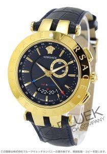 ヴェルサーチ V-レース GMT 腕時計 メンズ VERSACE 29G70D282S282
