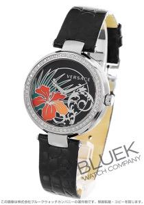 ヴェルサーチ ミスティック ハイビスカス ダイヤ 腕時計 レディース VERSACE I9Q91D9HIS009