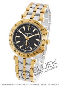 ヴェルサーチ V-レース クロノグラフ 替えベルト・ベゼル付き 腕時計 メンズ VERSACE VAH020016