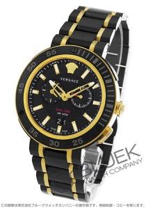 ヴェルサーチ V-エクストリーム プロ デュアルタイム 替えベゼル付き 腕時計 メンズ VERSACE VCN040017