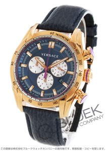 ヴェルサーチェ V-レイ クロノグラフ 腕時計 メンズ VERSACE VDB030014