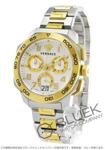 ヴェルサーチ ディロス クロノ クロノグラフ 腕時計 メンズ VERSACE VQC030015
