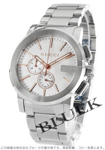 グッチ Gクロノ クロノグラフ 腕時計 メンズ GUCCI YA101201