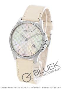 グッチ Gタイムレス ダイヤ アリゲーターレザー 腕時計 メンズ GUCCI YA126306