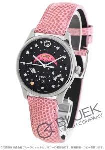 グッチ Gタイムレス ムーンフェイズ リザードレザー 腕時計 レディース GUCCI YA1264046