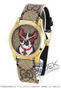 グッチ Gタイムレス ボスコ&オルソ 腕時計 ユニセックス GUCCI YA1264056