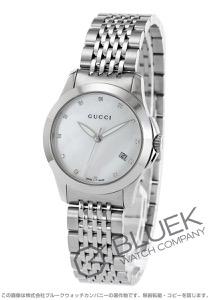 グッチ Gタイムレス ダイヤ 腕時計 レディース GUCCI YA126504