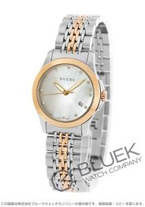 グッチ Gタイムレス ダイヤ 腕時計 レディース GUCCI YA126514