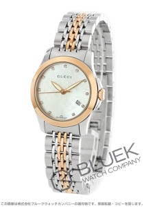 グッチ Gタイムレス ダイヤ 腕時計 レディース GUCCI YA126539