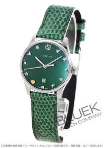 グッチ Gタイムレス リザードレザー 腕時計 レディース GUCCI YA126585