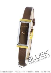 グッチ Gフレーム YG金無垢 サテンレザー 腕時計 レディース GUCCI YA127507