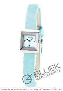 グッチ Gフレーム スクエア サテンレザー 腕時計 レディース GUCCI YA128531