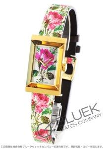 グッチ Gフレーム フローラル マザー オブ パール 腕時計 レディース GUCCI YA147406