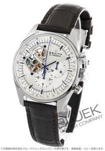 ゼニス エル プリメロ クロノマスター オープン クロノグラフ アリゲーターレザー 腕時計 メンズ Zenith 03.2040.4061/01.C494