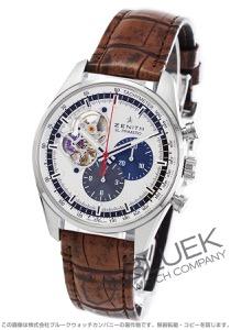 ゼニス エル プリメロ クロノマスター オープン クロノグラフ アリゲーターレザー 腕時計 メンズ Zenith 03.2040.4061/69.C777