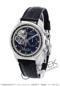 ゼニス エル プリメロ クロノマスター オープン クロノグラフ パワーリザーブ アリゲーターレザー 腕時計 メンズ Zenith 03.2080.4021/21.C496