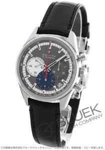 ゼニス エル プリメロ クロノマスター 36000VpH クロノグラフ アリゲーターレザー 腕時計 メンズ Zenith 03.2150.400/26.C714