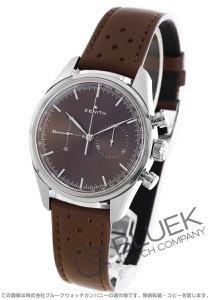 ゼニス エル プリメロ クロノマスター ヘリテージ 146 クロノグラフ 腕時計 メンズ Zenith 03.2150.4069/75.C806