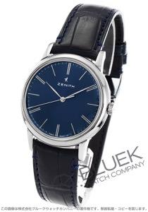 ゼニス エリート クラシック アリゲーターレザー 腕時計 メンズ Zenith 03.2290.679/51.C700