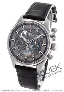 ゼニス エル プリメロ クロノマスター フルオープン クロノグラフ アリゲーターレザー 腕時計 メンズ Zenith 03.2530.4047/78.C813