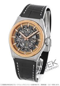 ゼニス デファイ クラシック アリゲーターレザー 腕時計 メンズ Zenith 87.9001.670/79.R589