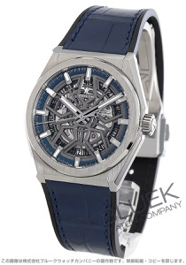 ゼニス デファイ クラシック スケルトン アリゲーターレザー 腕時計 メンズ Zenith 95.9000.670/78.R584