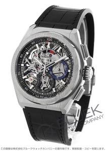 ゼニス デファイ エル プリメロ 21 クロノグラフ パワーリザーブ アリゲーターレザー 腕時計 メンズ Zenith 95.9000.9004/78.R582