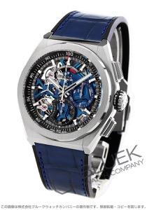 ゼニス デファイ エル プリメロ 21 クロノグラフ パワーリザーブ アリゲーターレザー 腕時計 メンズ Zenith 95.9002.9004/78.R584