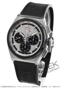ゼニス デファイ エル プリメロ 21 クロノグラフ パワーリザーブ アリゲーターレザー 腕時計 メンズ Zenith 95.9005.9004/01.R582
