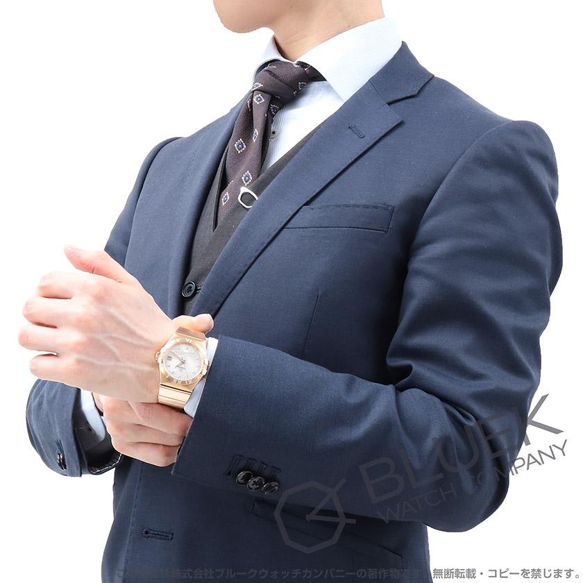 オメガ コンステレーション コーアクシャル クロノメーター ダイヤ RG金無垢 メンズ 123.55.35.20.52.003