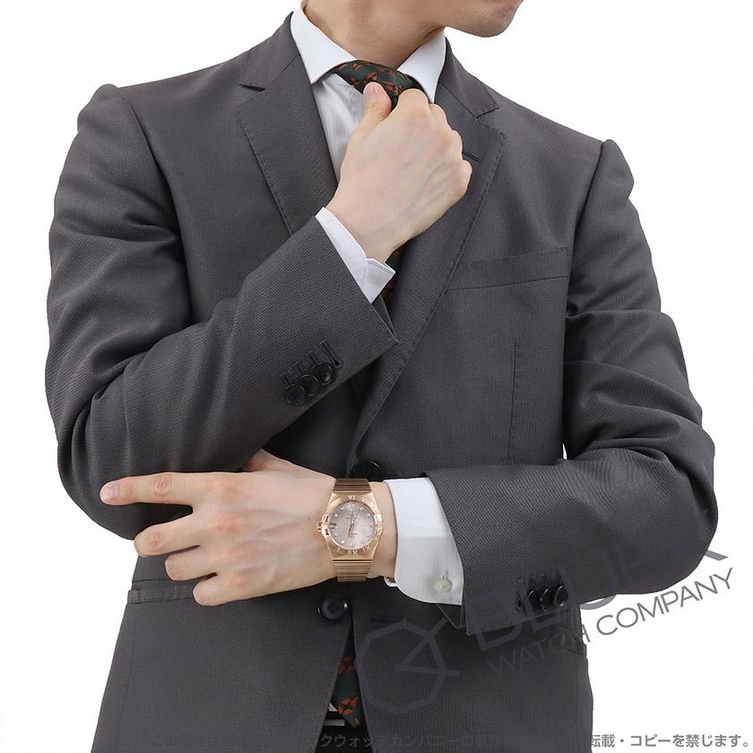 オメガ コンステレーション コーアクシャル クロノメーター ダイヤ RG金無垢 メンズ 123.55.38.21.52.007