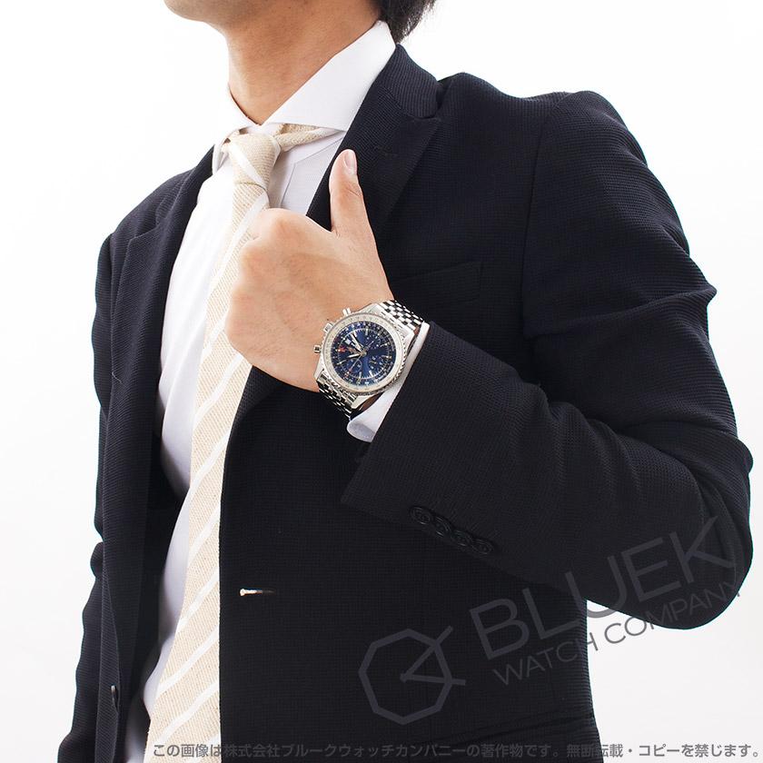 best service 2e85c 46087 ブライトリング ナビタイマー ワールド クロノグラフ 腕時計 ...