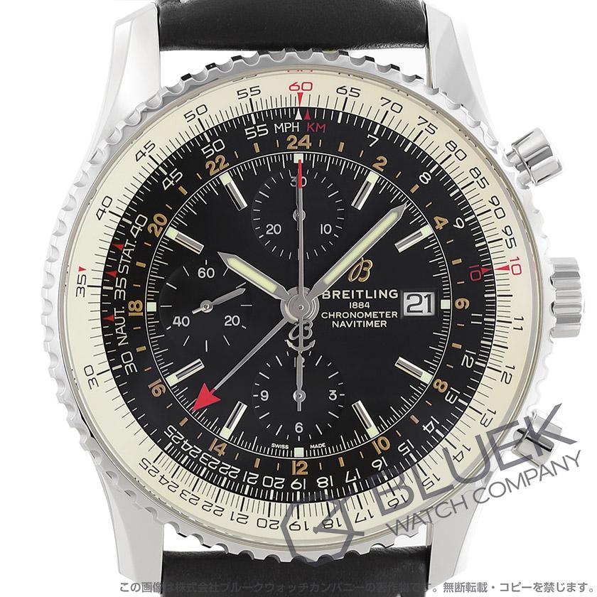 ブライトリング ナビタイマー クロノグラフ GMT メンズ A24322121B2X1