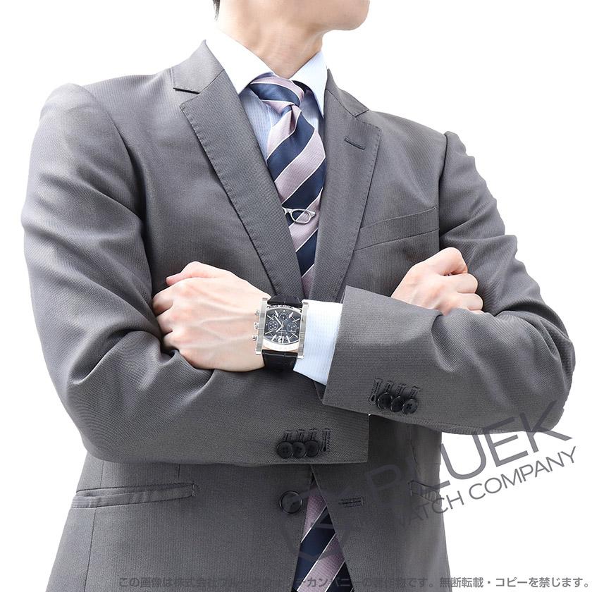 san francisco 579f1 37a1f ブルガリ アショーマ クロノグラフ アリゲーターレザー 腕時計 ...