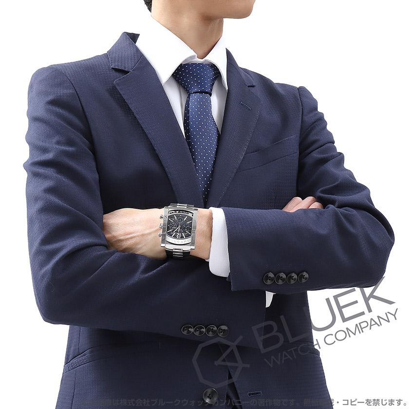 pretty nice abe99 f16e5 ブルガリ アショーマ クロノグラフ 腕時計 メンズ BVLGARI ...