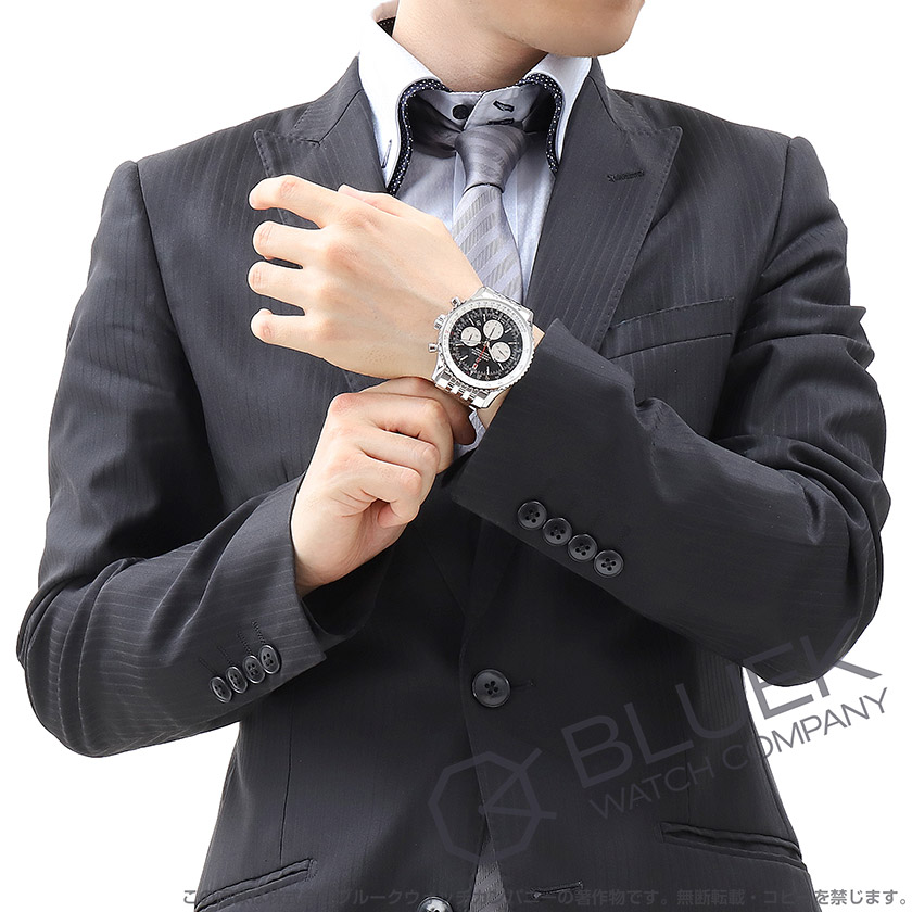 ブライトリング ナビタイマー 1 B01 クロノグラフ 腕時計 メンズ BREITLING AB0127211B1A1
