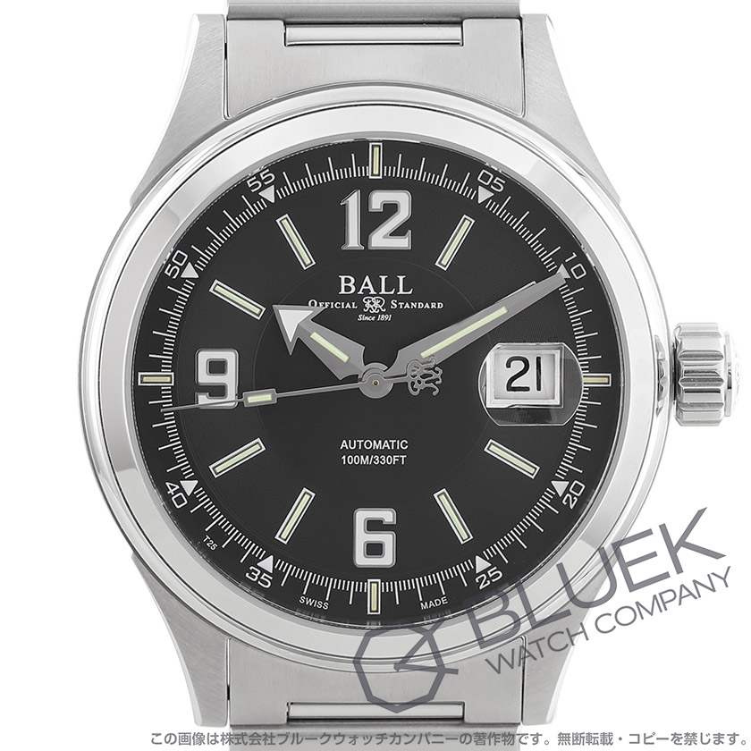 ボールウォッチ ストークマン レーサー 腕時計 メンズ BALL WATCH NM2088C-S2J-BKWH