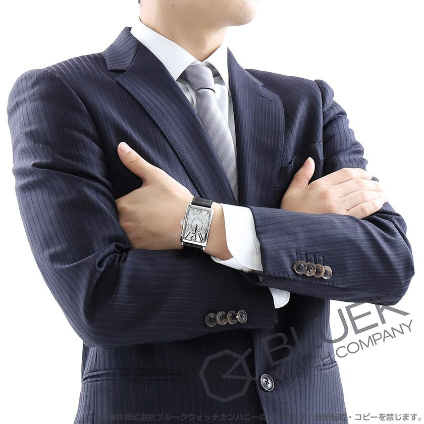 フランクミュラー ロングアイランド レリーフ クロコレザー 腕時計 ...