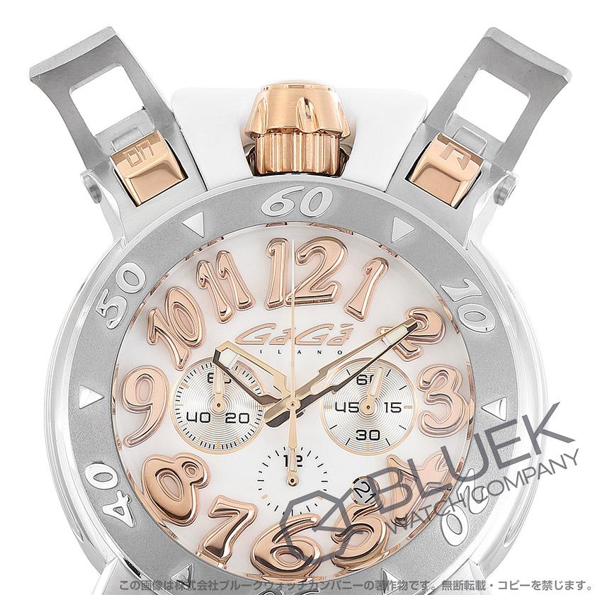 ガガミラノ クロノ48MM クロノグラフ 腕時計 メンズ GaGa MILANO 8016.01