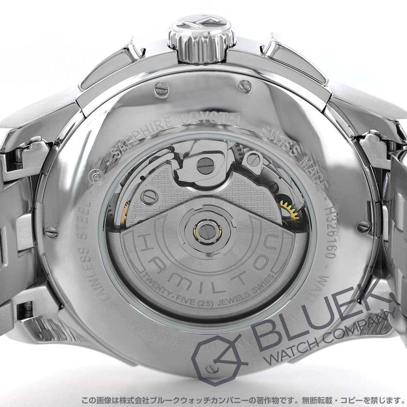 d8ee252197 ハミルトン ジャズマスター オート クロノ クロノグラフ 腕時計 メンズ HAMILTON H32616153