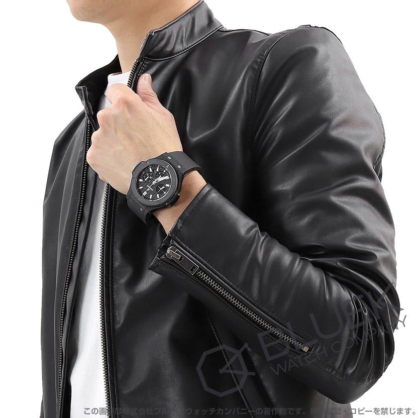 ウブロ ビッグバン エボリューション ブラックマジック クロノグラフ 腕時計 メンズ HUBLOT 301.CI.1770.RX