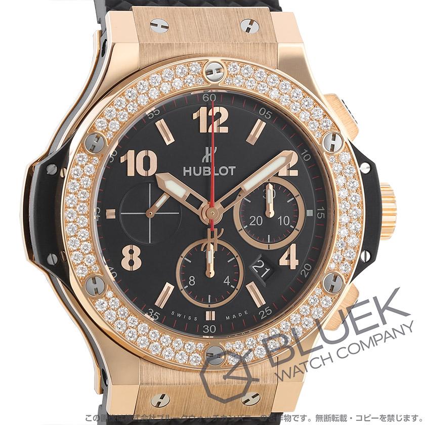 ウブロ ビッグバン ゴールド クロノグラフ ダイヤ RG金無垢 腕時計 メンズ HUBLOT 301.PX.130.RX.114